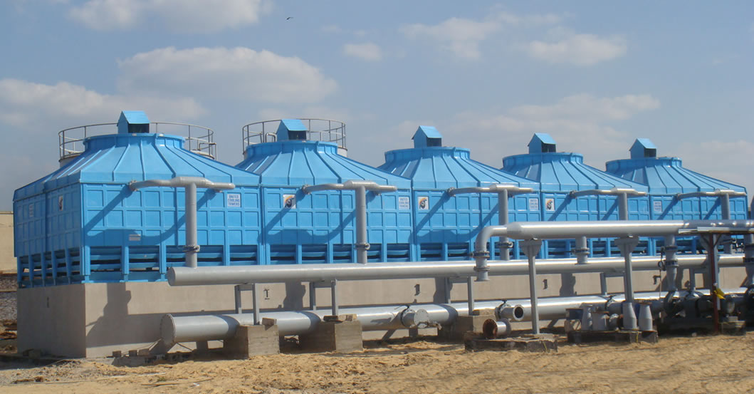 frp multi cell square cooling tower manufacturer