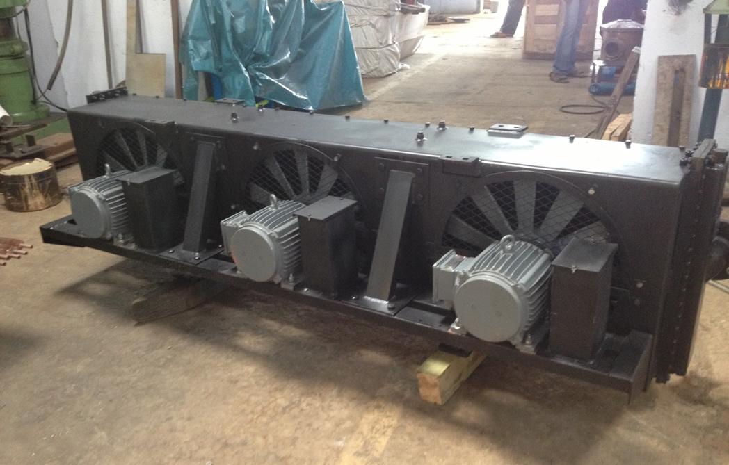 Air blast oil cooler heat exchanger suppliers