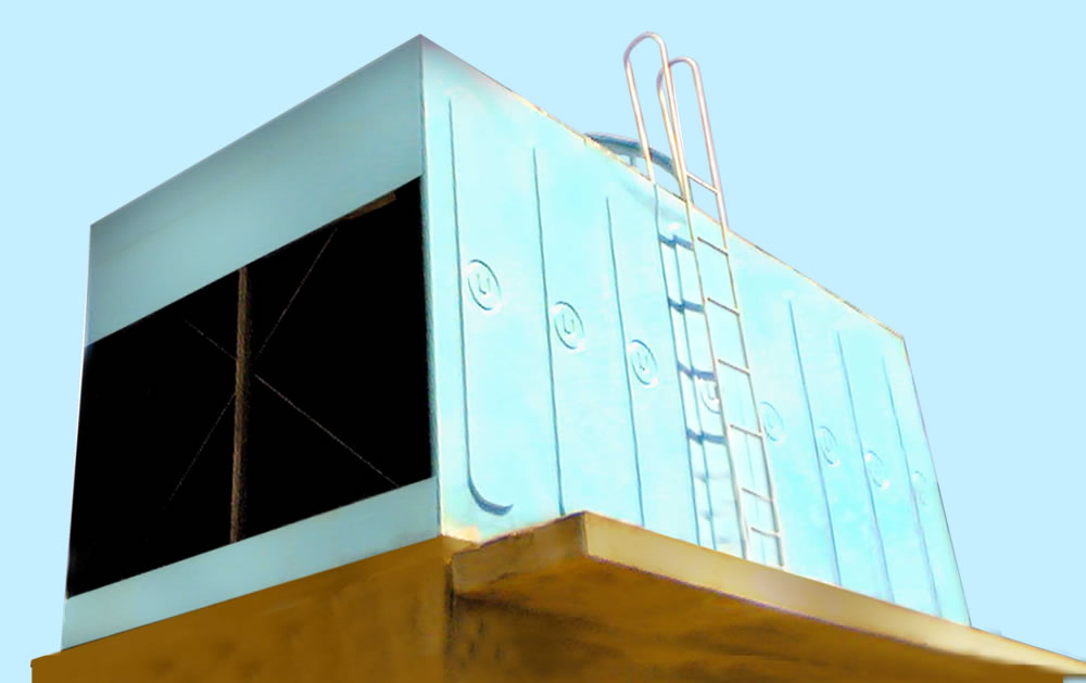 cross flow cooling towers india