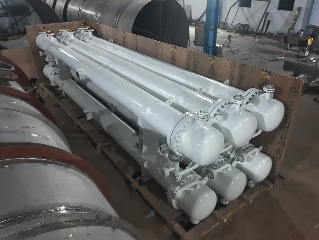 Stacked Type Shell and Tube Heat Exchanger Manufacturer